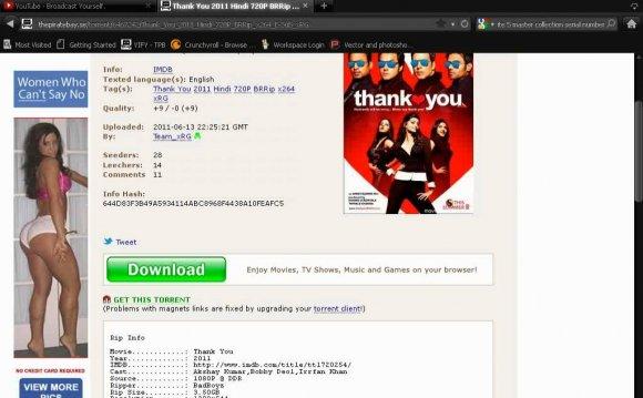 Best torrent website to