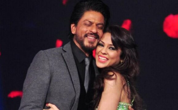 SRK met the grown up Sana