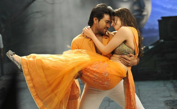 Tamanna in a romantic seen