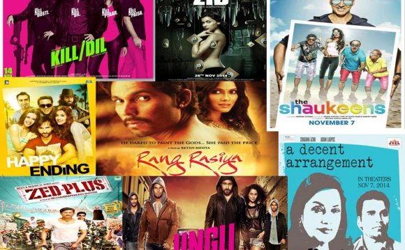Bollywood movie list 2014