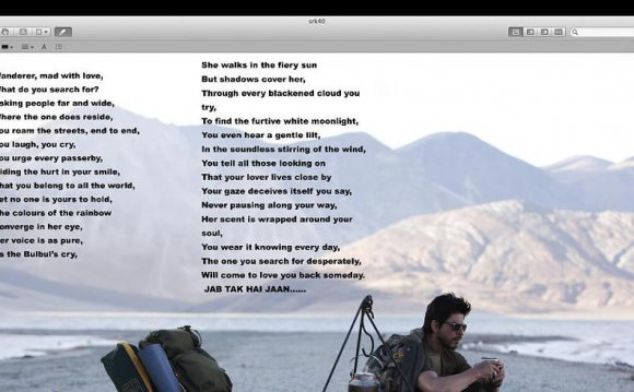 Challa lyrics as posted by