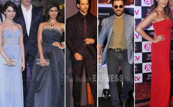 Bollywood actors Anil Kapoor