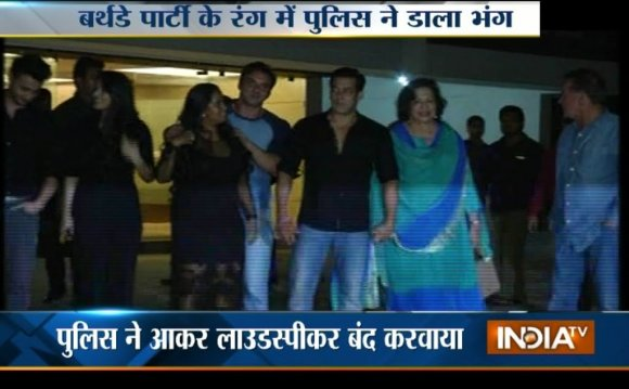 Police Interrupts into Salman