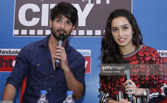 Bollywood actors Shahid Kapoor