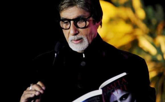 Big B remained as active as