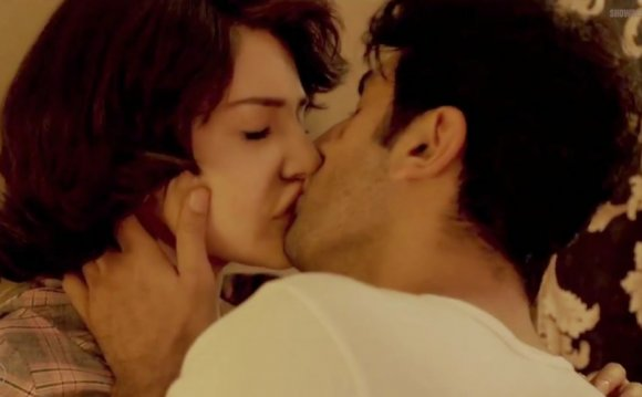 Shama hot kissing scene in