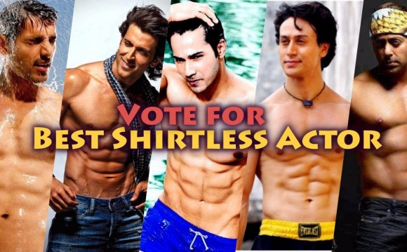 Hot shirtless Bollywood Men