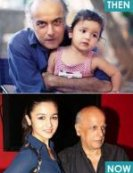 7) Aliya Bhatt pictured with her father Mahesh Bhatt.