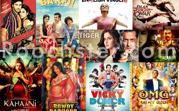 Best Bollywood movies in 2012