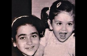Childhood Photos of Bollywood Celebs-Karishma and Kareena