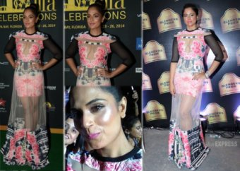 Ditto at IIFA 2014: Richa Chadda copies Sameera Reddy