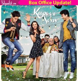 Kapoor & Sons box office collection: Alia, Sidharth and Fawad's latest outing mints Rs 31.43 crore in 4 days!