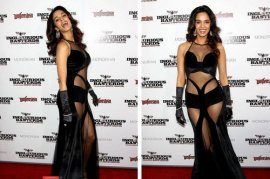 Mallika Sherawat's International 'Oops' Moment