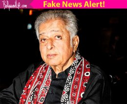News of Shashi Kapoor's death is FAKE!