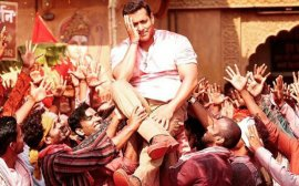 Salman Khan in a still from Bajrangi Bhaijaan
