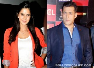 Salman Khan surprises Katrina Kaif in the cutest way possible!