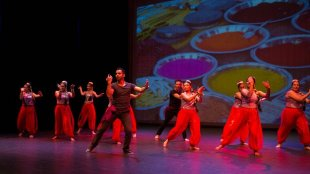 The Canberra School of Bollywood Dancing 2014 concert.