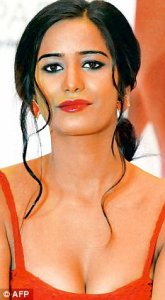Too busy: Model and Bollywood actress Poonam Pandey is currently shooting an item number in Bangalore