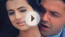 Ameesha patel Hot romance sari rain Bollywood movie song