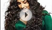 Bollywood Actress Vidya Balan Hairstyles