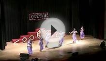 Bollywood Cinematic Dance by adult group than won first
