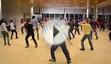 Bollywood dance training in Sweden for Gandi Baath song