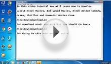 How To Download Latest Bollywood Movies Free HD Online