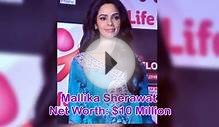 Richest Bollywood actress 2014 - 15 female Category