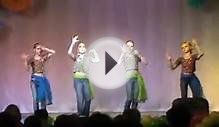 Russian Children dancing Bollywood song from Film Dhoom