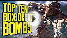Top Ten Box Office Bombs - TenFTW